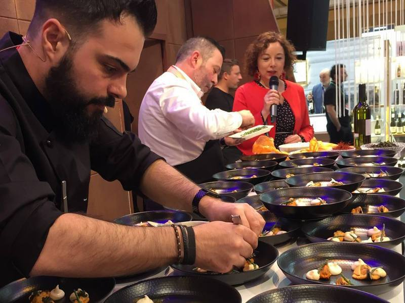 show cooking salon gourmets 2019